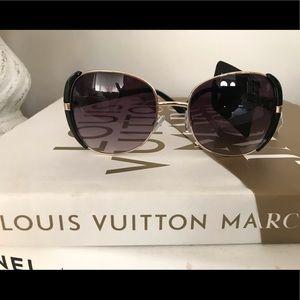 New York and company black gold sunglasses NEW!